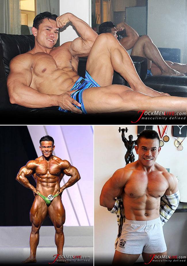 Asian bodybuilder Blessed