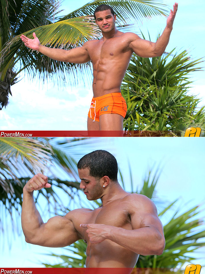 Lorenzo Kaiden - Muscle hunk from Power Men