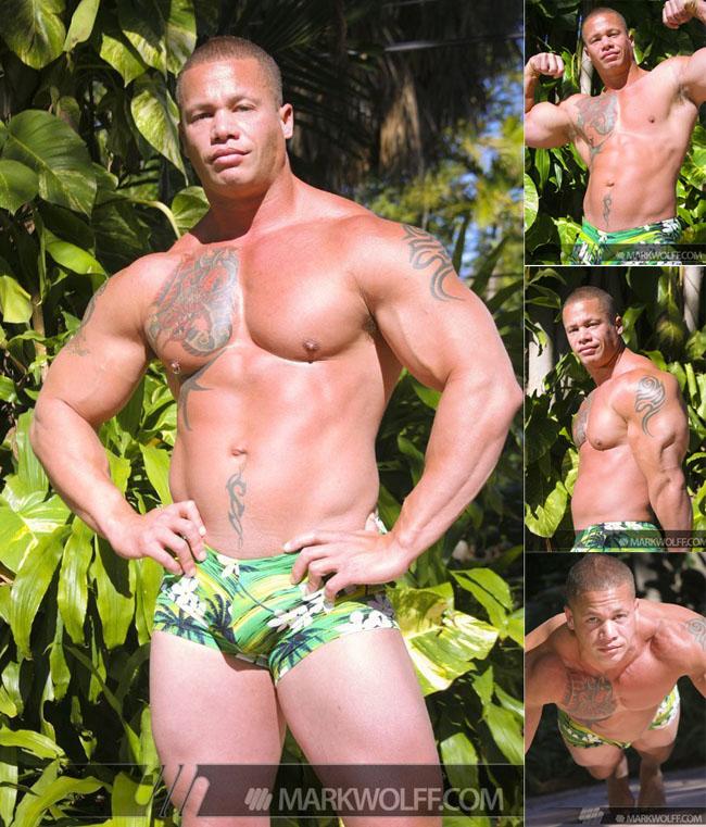 Matthew Rush - bodybuilder and gay porn star