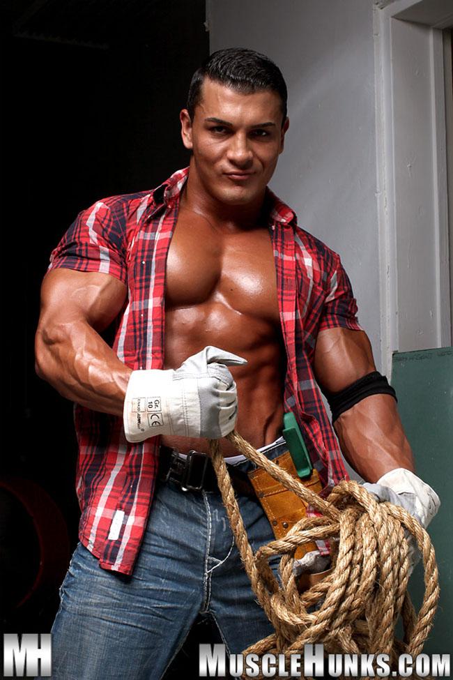 Omar Fabrouk - massive muscle