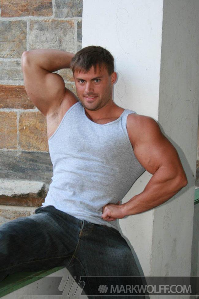 Bodybuilder Tomas Masek