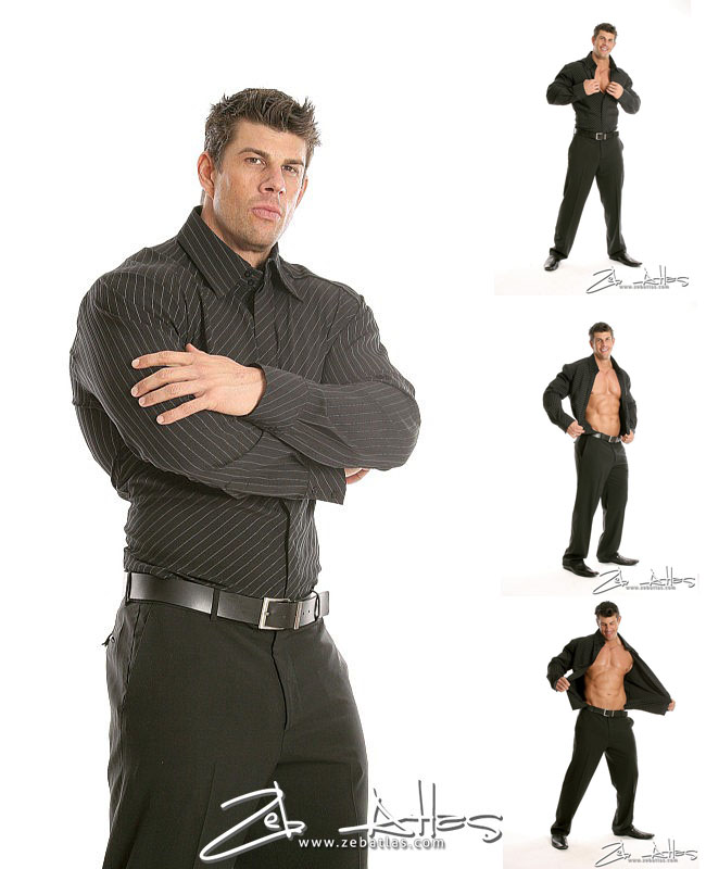 Zeb Atlas in a suit