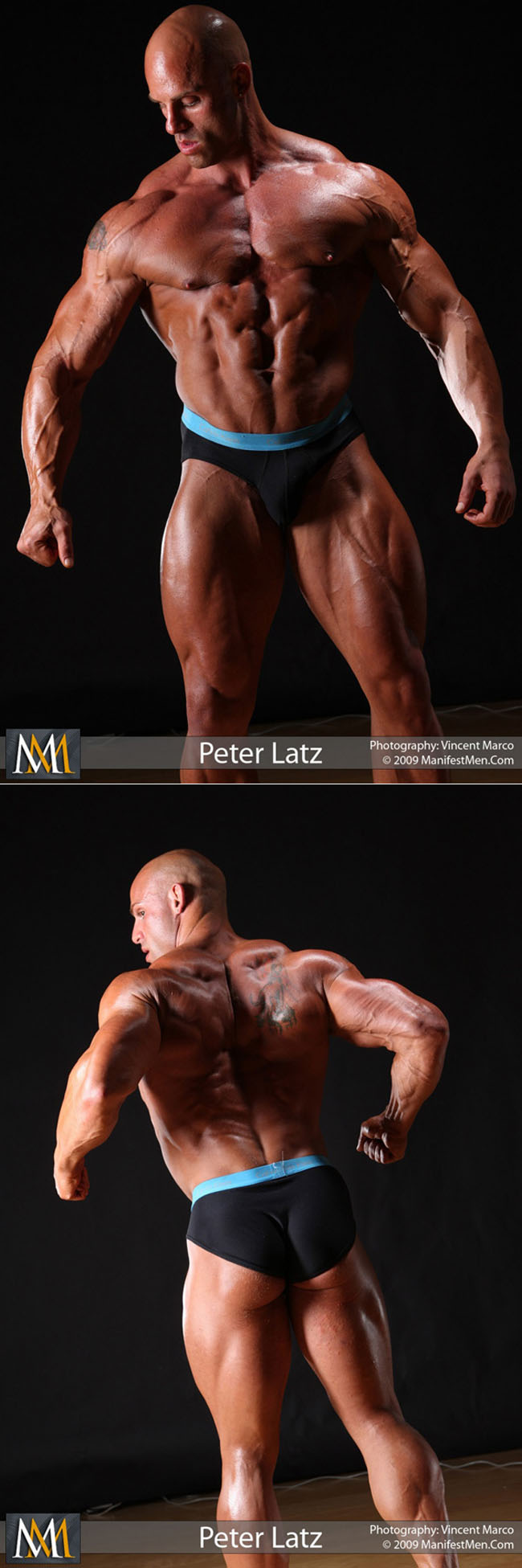 Muscle stud Peter Latz