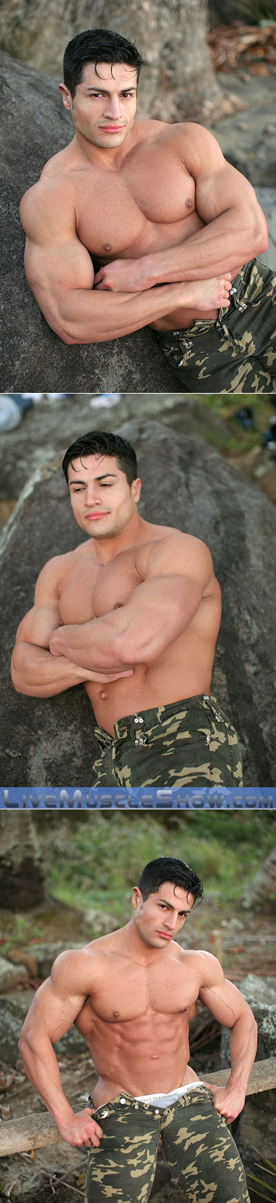 Huge Latin bodybuilder