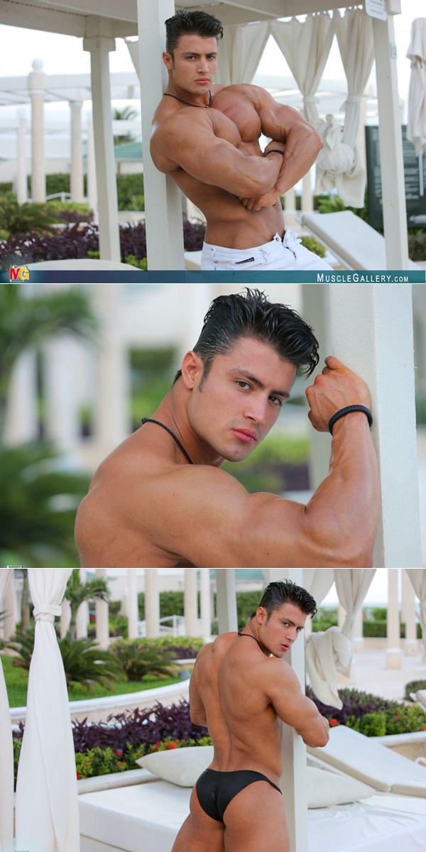 Hot Latin muscle man
