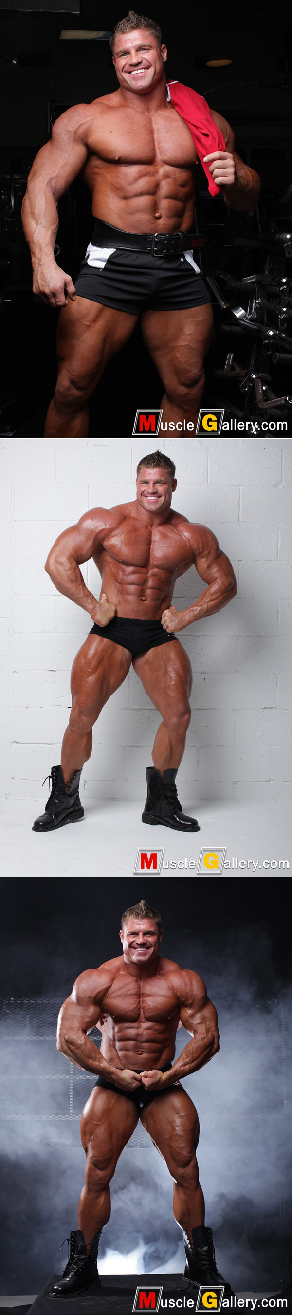 Massive bodybuilder David Riley