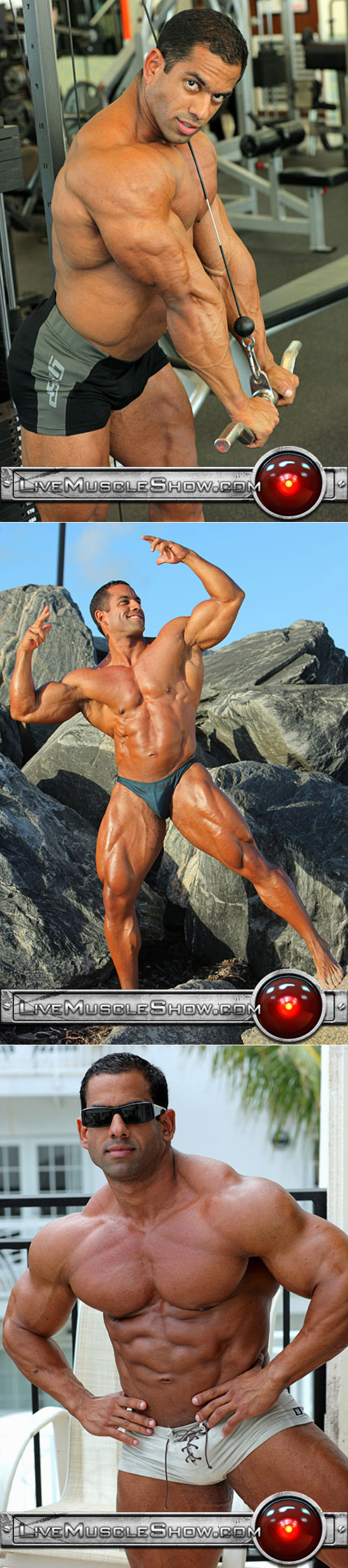 Massive Latino bodybuilder