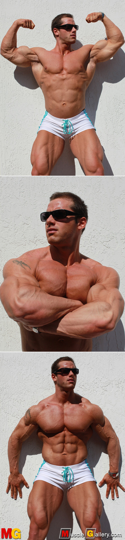 Hot male bodybuilder