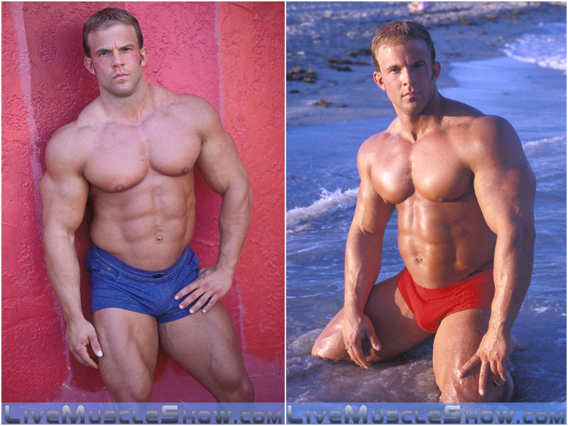 hard-bodied bodybuilder